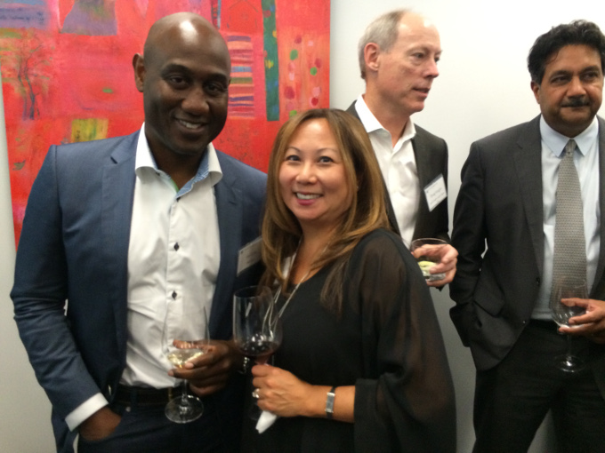 Earl Ellis of Best Buy with Partner Roberta Chow