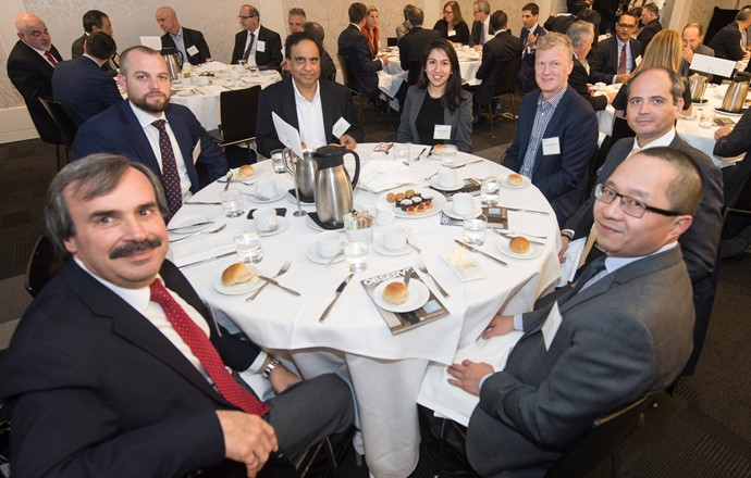 Tony Masella, Toronto Research Chemicals Inc., Trevor Smith, Odgers Berndtson, Inder Chohan, Dania Zargaran, Odgers Berndtson, Brian McKeown, IKO Industries Ltd., Phillip Grella, Magna Exteriors, and Ron Ing