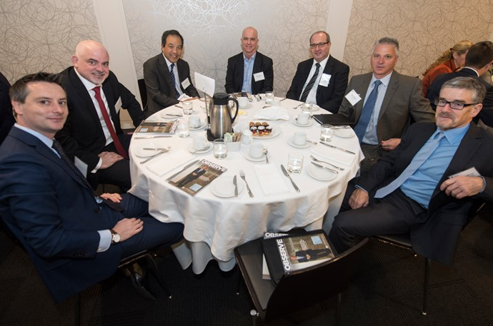 Ross Woledge, Odgers Berndtson, Ross Garland, Kevin Young, Rod Staveley, Sun Chemical Canada, Eli Brigler, SPP Canada Aircraft Inc., Jeff Gallant and Mick O'Sullivan, Venturi Vision