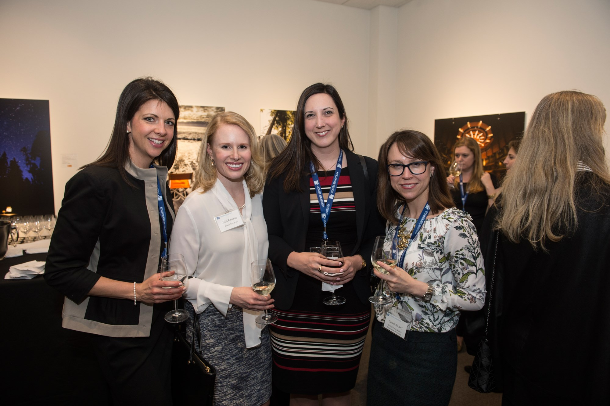 Heather Eldebs from RBC, Julia Robarts from Odgers Berndtson, Vanessa Voakes from Stikeman Elliott LPP & Sarah Rickard from Mutual Fund Dealers Association of Canada