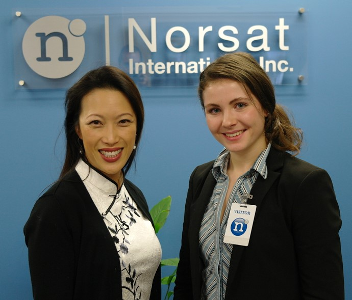 Norsat CEO Aimee Chan during CEOx1Day