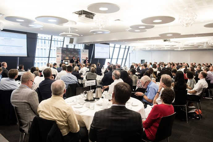 Over 170  industry leaders in the asset management turned to the sold out event