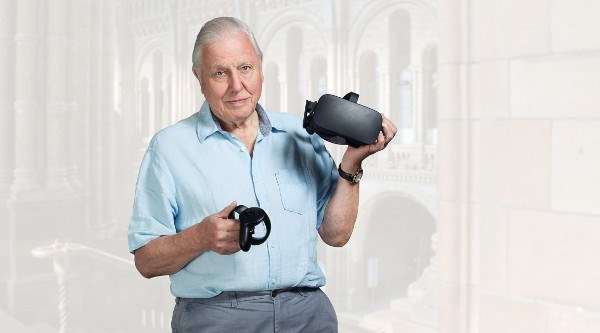 David Attenborough Hold The World VR Project