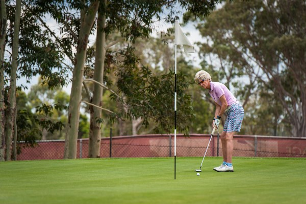 Woman Player Odgers Berndtson and Diabetes NSW & Act Charity Golf Day