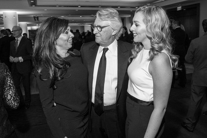 Carl Lovas, Chairman & CEO, Odgers Berndtson, his wife Kathy Lovas and daughter Ali Lovas