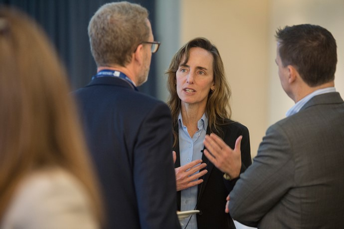 Jacqueline Carter of the Potential Project speaks with Steve Wolff, CEO, CIBC Mellon & Eric Beaudan, Head of Leadership Practice, Odgers Berndtson