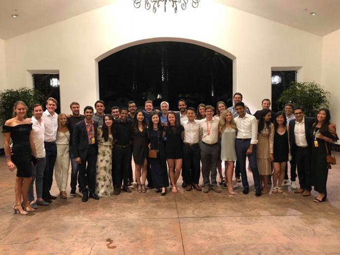 The McKinsey & Company Canadian Summer Class of 2018 at the North America Summer Conference in Carlsbad, California in July